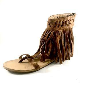Koolaburra by Ugg suede fringe sandals